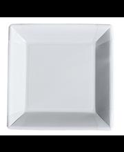 Papptaldrik 23x23 cm, 20 tk valge