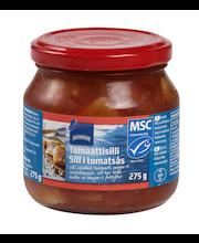 Marineeritud heeringas tomatikastmes