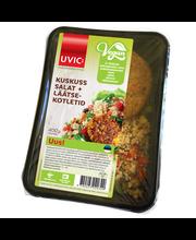 Vegan läätse kotlet + kuskuss salat 400 g
