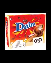 Vanilli-minikoonusjäätised Daimi-puruga, 6 x 85 ml