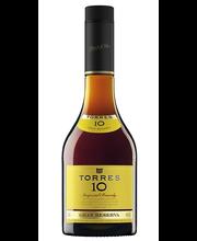 Torres 10 Years Brandy Gran Reserva 38% 0,5L