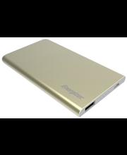 Akupank Energizer, 4000 mAh, 2 A USB-laadimispesa, kuldne