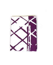 Padjapüür  Elastiq 50x70cm lilla/valge, 100% puuvillasatiin