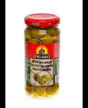Rohelised oliivid pipratäidisega 240/140 G