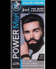 Juuksevärv Power Men 1 Black