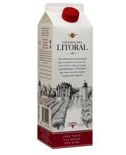 Litoral Tinto vein 12%, 1L
