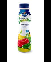 Vaarika-banaani-spirulina jogurtismuuti, 275 g