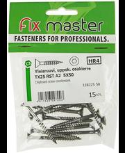 Fixmaster universaalkruvi, peitpea, osakeere, A2 TX25, 5,0 x ...