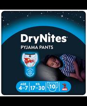 Huggies püksmähkmed Dry Nites Boy 17-30 kg, 10 tk