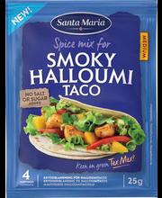 Santa Maria Halloumi-tako maitseainesegu, 25 g
