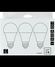LED lamp 9W E27, CM1 3000K 470LM, 3 tk