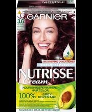Juuksevärv Nutrisse 3.6 Deep Reddish Brown