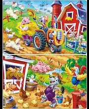 Raampuzzle lõbus Farm