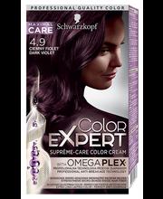 Juuksevärv color expert 4-9 tumelilla