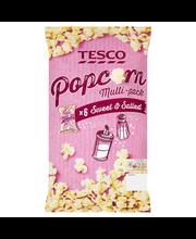 Tesco Sweet&Salted popkorn 6 x 14 g