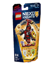 Lego Nexo Knights tegelane Ultimate Elajakäskija 70334