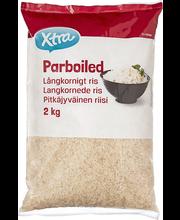Aurtöödeldud pikateraline riis 2 kg
