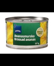 Purustatud ananassid omas mahlas 227/140 g