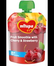 Milupa puuviljasmuuti kirsside ja maasikatega 80 g, alates 8-...
