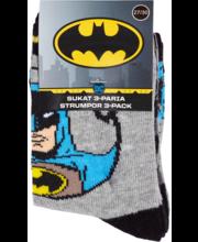 Laste sokid 3-paari Batman 35-38