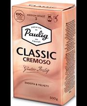 Paulig Classic Cremoso 500g jahvatatud kohv