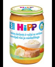 Hipp juurviljapüree vasikalihaga 220 g, alates 8-elukuust