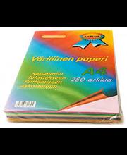 Koopiapaber A4/250l 5-värvi
