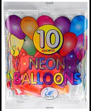 Õhupallid Neoon 10 tk