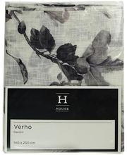Kardin Dina 140 x 250 cm, must/valge, 100% polüester