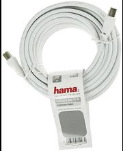 Antennikaabel, 75 dB, 10 m, valge