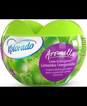 Kolorado geelõhuvärskendi Aromella Lime & Bergamot 150 g