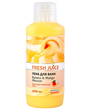 Vannivaht Banana&Mango Mousse 1000 ml