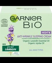Öökreem Bio Anti-Wrinkle Lavandin 50 ml