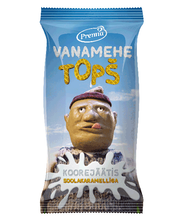 Vanamehe topš koorejäätis soolakaramelliga, 75g/140ml