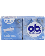 O.B. Pro Comfort Normal tampoonid 16 tk