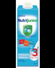 Nutrijunior 3 jätkupiimajook 1000 ml, alates 1-eluaastast