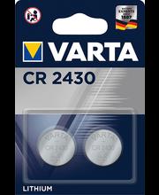 Patarei liitium CR2430 2 tk
