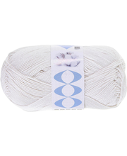 Lõng  Perfect Cotton100 g, nat.valge
