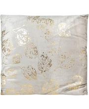 dekoratiivpadi lehed 45x45 cm kuldne