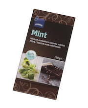 Delizione tume šokolaad piparmündiga 100 g