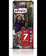 Libero püksmähkmed Up&Go 7, 16-26 kg, 34 tk