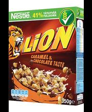 Nestlé Lion shokolaadi- ja toffee-maitselised nisu-riisikrõbu...