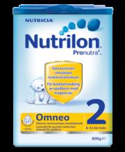 Nutrilon Omneo jätkupiimasegu 800 g, alates 6-elukuust