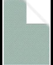 Raamatupaber 70x200cm roheline valged täpid