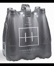 Haage looduslik mineraalvesi, mullita, 6 x 1L