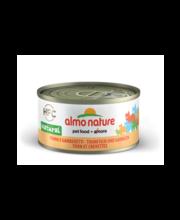 Almo Nature konserv kassidele tuunikala & krevetid 70 g