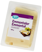 Emmentali juust, viilutatud