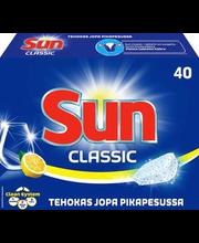 Sun Classic Lemon nõudepesumasina tabletid 40 tk