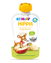 Hipp Hippis õuna-banaanipüree 100 g, öko, alates 4-elukuust