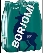 Borjomi karboniseeritud looduslik mineraalvesi 6-pakk, 7,5L